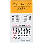 Peel-n-Stick Calendar - Rectangle - 3 Month
