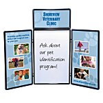 Show 'N' Write Tabletop Display - 6' - Full Color