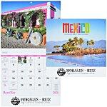 Mexico Calendar - Stapled