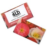 Business Card Seed Packet - Shirley Poppy