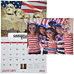 Celebrate America Calendar - Window