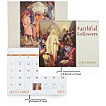 Faithful Followers Calendar - Spiral