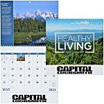 Healthy Living Calendar - Spiral