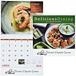 Delicious Dining Calendar - Spiral