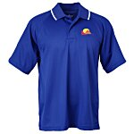 Classic Moisture Wicking Tipped Polo - Men's