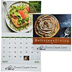 Delicious Dining Calendar - Stapled