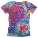 Blue 84 Juniors' Burnout Sublimated Tee - Color Burst