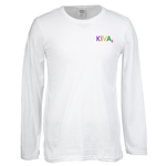 Gildan SoftStyle LS T-Shirt - Men's - Emb - White