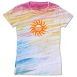 Blue 84 Juniors' Burnout Sublimated Tee - Streaky