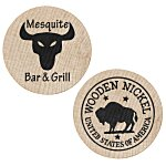 Wooden Nickels - Buffalo