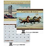 Currier & Ives Calendar - Spiral