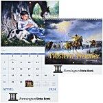 Western Frontier Calendar - Spiral