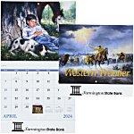 Western Frontier Calendar - Stapled