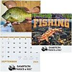 Fishing Calendar - Spiral