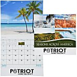 Seasons Across America Calendar - Stapled