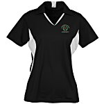 Side Blocked Micropique Sport-Wick Polo - Ladies'