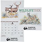 Wildlife Trek Calendar - Stapled
