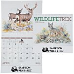 Wildlife Trek Calendar - Spiral