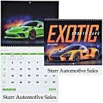 Exotic Sports Cars Calendar - Spiral