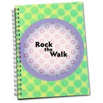 3D Spiral Notebook - Circle