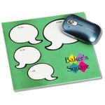Notepad Mouse Pad - Message Bubbles