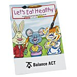 Paint with Water Book - Let's Eat Healthy