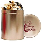 1 Quart Gourmet Popcorn Tin - Cookies & Cream