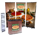 Case to Podium Floor Display - Triple Kit