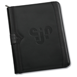 Wingtip Zippered Padfolio - 24 hr