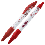 Bic Widebody Pen w/Grip - Snowflakes