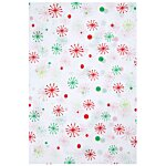 Tissue Paper - Seasons  Greeting Snowflakes