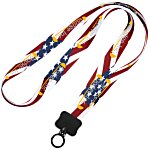 Dye-Sublimated Lanyard - 3/4