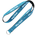 Glitter Polyester Lanyard - 3/4