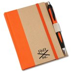 Perfect Bound Notebook w/Helix Pen - 6
