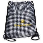 Designer Drawcord Sportpack - Houndstooth