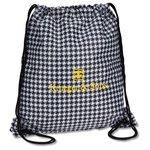 Designer Drawcord Sportpack - Houndstooth