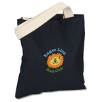 USA Made Bayside Promotional Tote - Colors - Embroidered