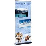 Square-Off Retractable Banner - 35-1/4