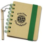Bright Line Recycled Jotter w/Recycled Pen