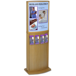 Convex Deluxe Floor Poster Stand