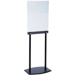 Floor Poster Stand - Black