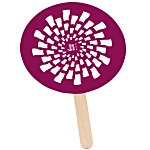 Mini Hand Fan - Round