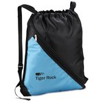 Bold Divider Drawstring Backpack