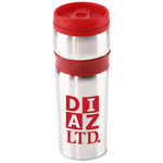 Steel Belted Travel Tumbler - 14 oz.