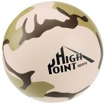 Camouflage Round Stress Reliever - 24 hr