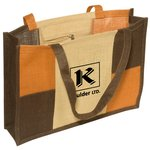 City Square Jute Tote - Closeout
