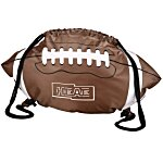Game Time! Football Drawstring Backpack