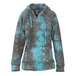 Weatherproof Courtney Burnout Sweatshirt - Teal Wave