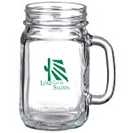 Glass Drinking Jar - 16 oz.