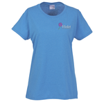 Gildan 5.3 oz. Cotton T-Shirt - Ladies' - Emb - Colors